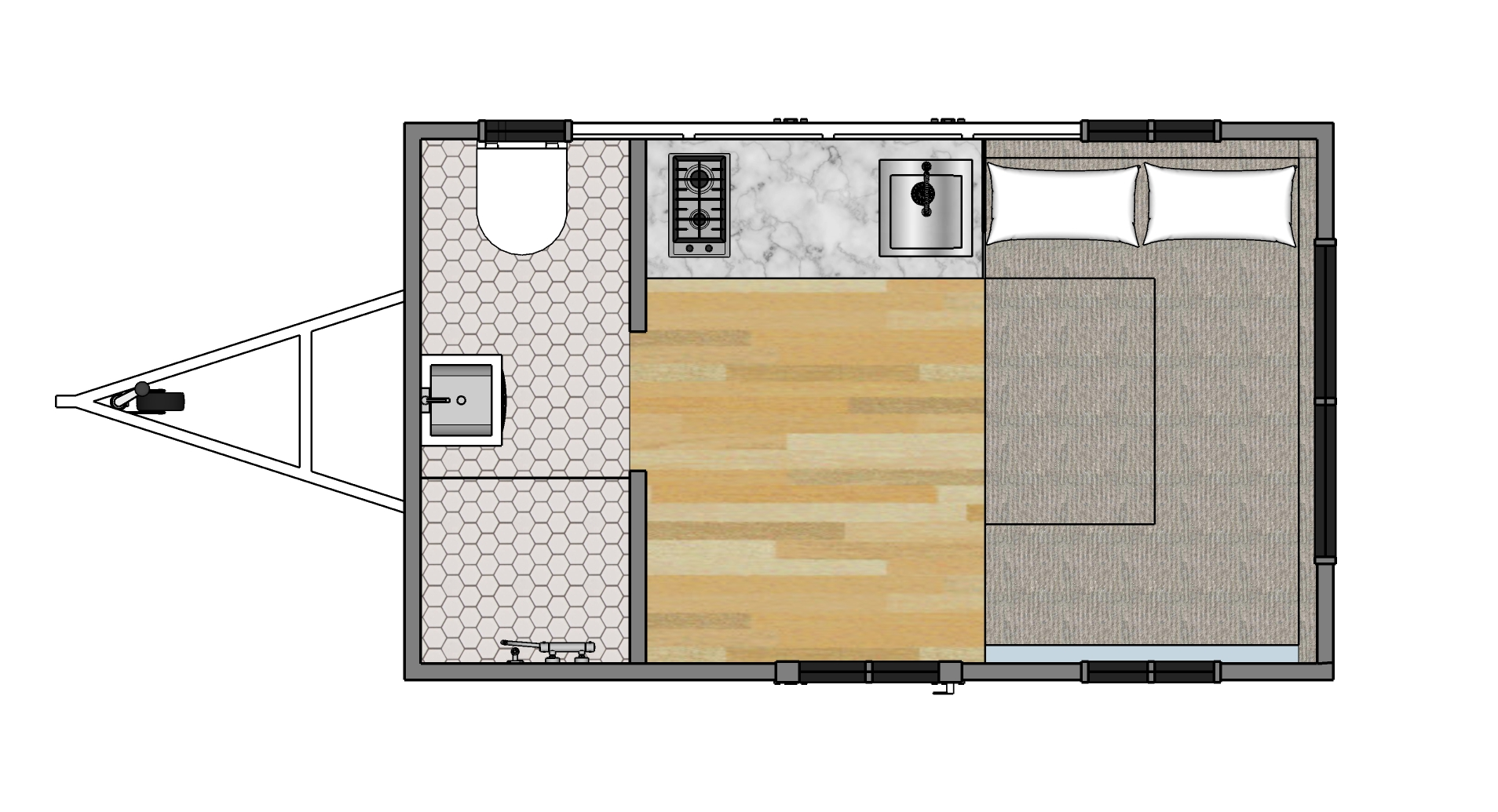 Tiny House Australia cost and floor plans